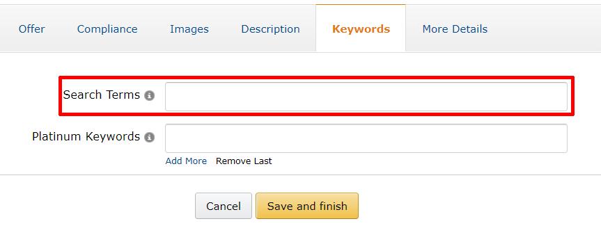 亚马逊搜索词
